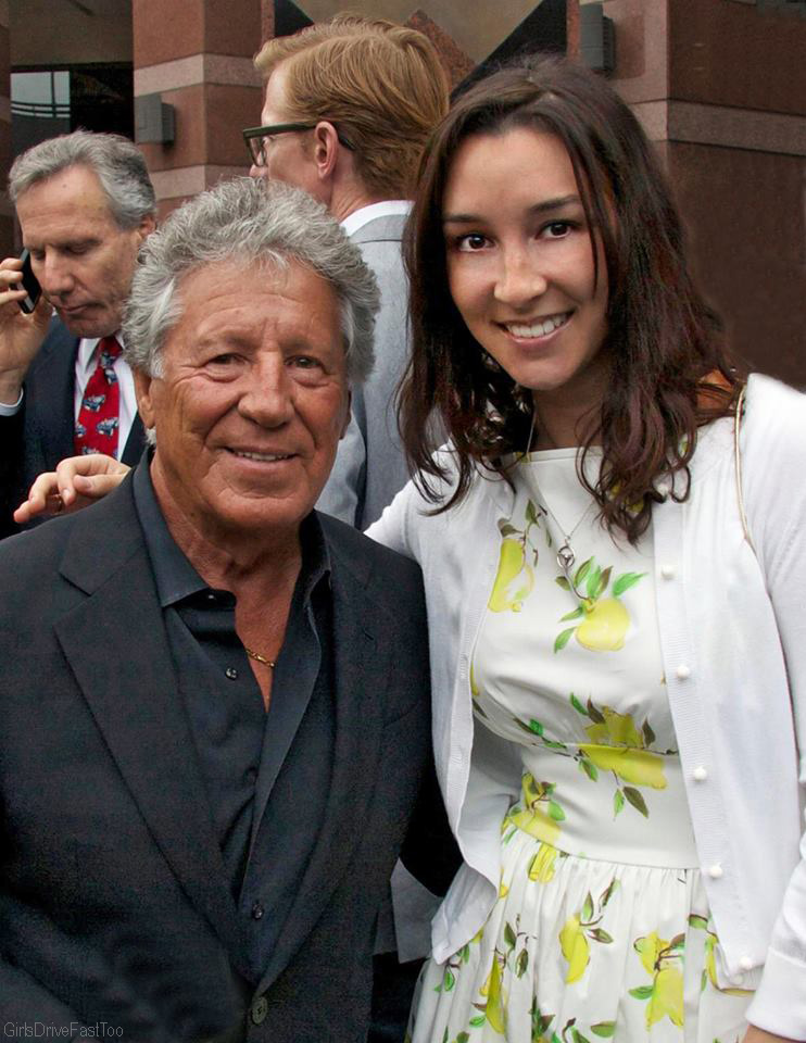 Mario Andretti Honored at RRDC Dinner