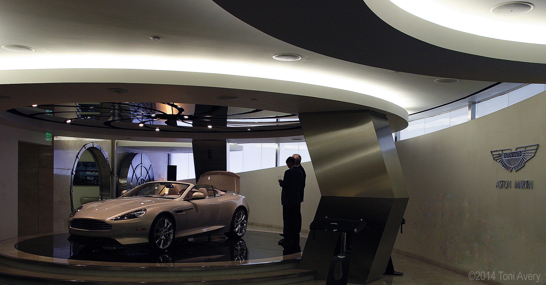 GirlsDriveFastToo Galpin Aston Martin Show Room - Galpin aston martin