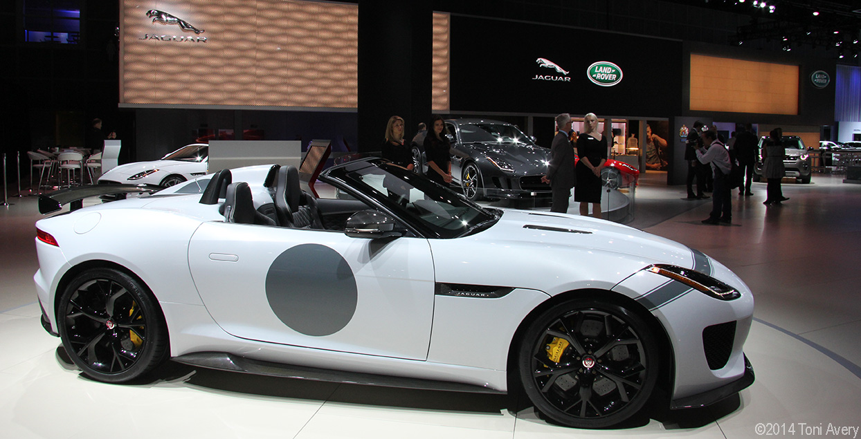 LA Auto Show 2014: Jaguar & Interview with #JustinBell