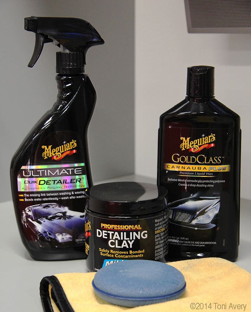 Car Detailing 101: Clay Bar and Waxing