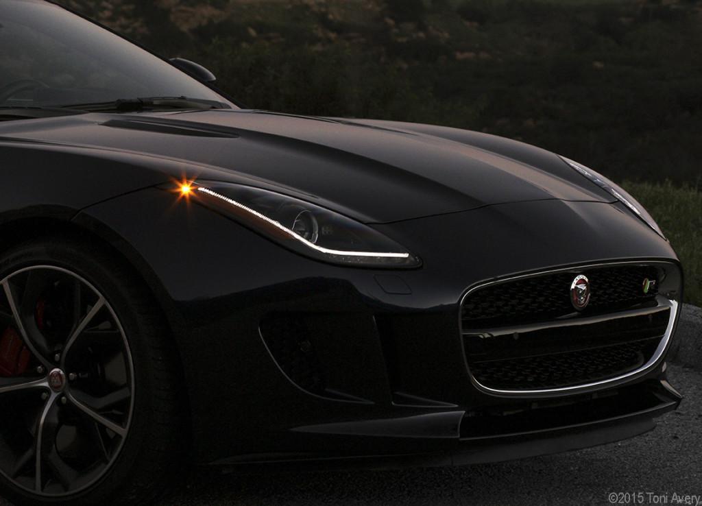 F-Type R dark frontend