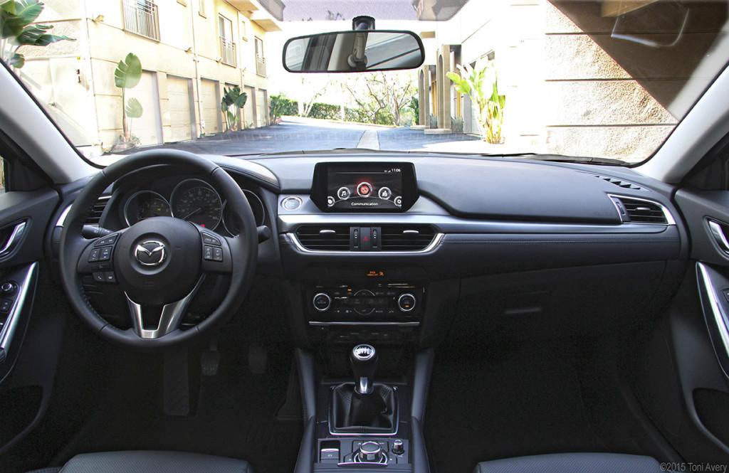 Mazda6 interior 2