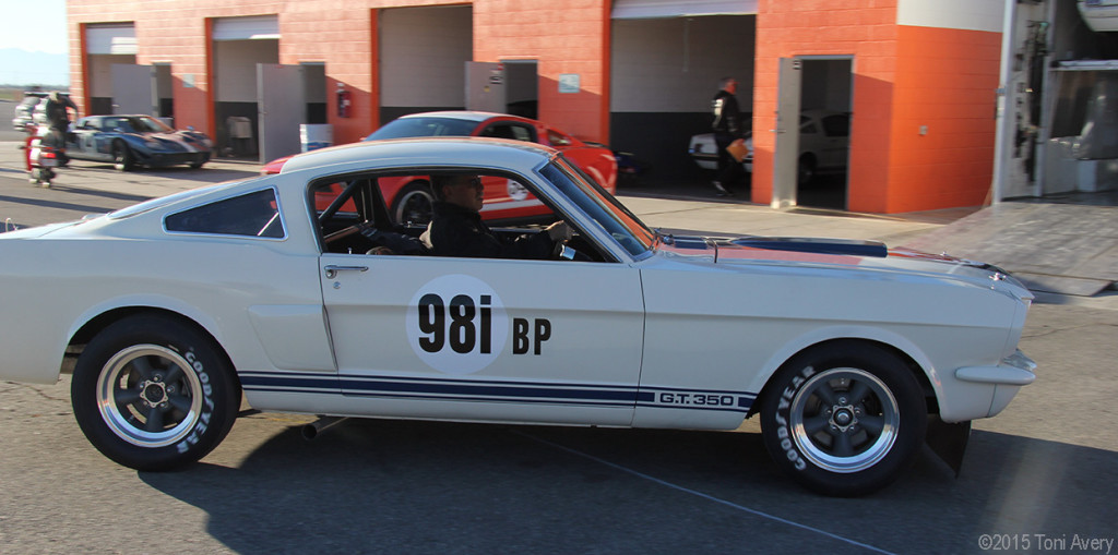 new GT350 IRS moving
