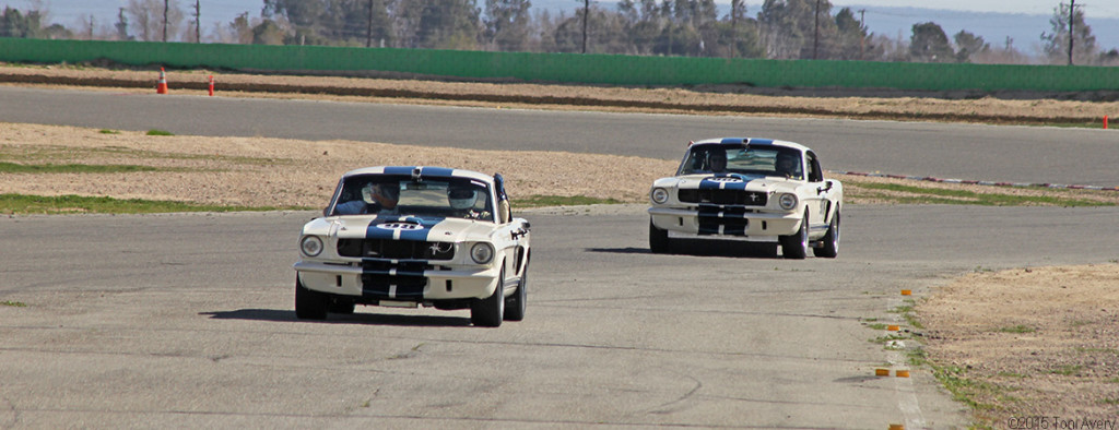 new GT350s on track 2