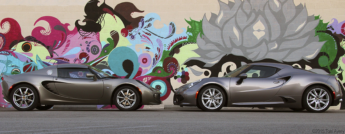2015 Alfa Romeo 4C Coupe Goes Head-To-Head With The Lotus Elise