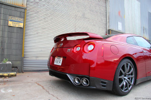 2015 Nissan GT-R rear closeup