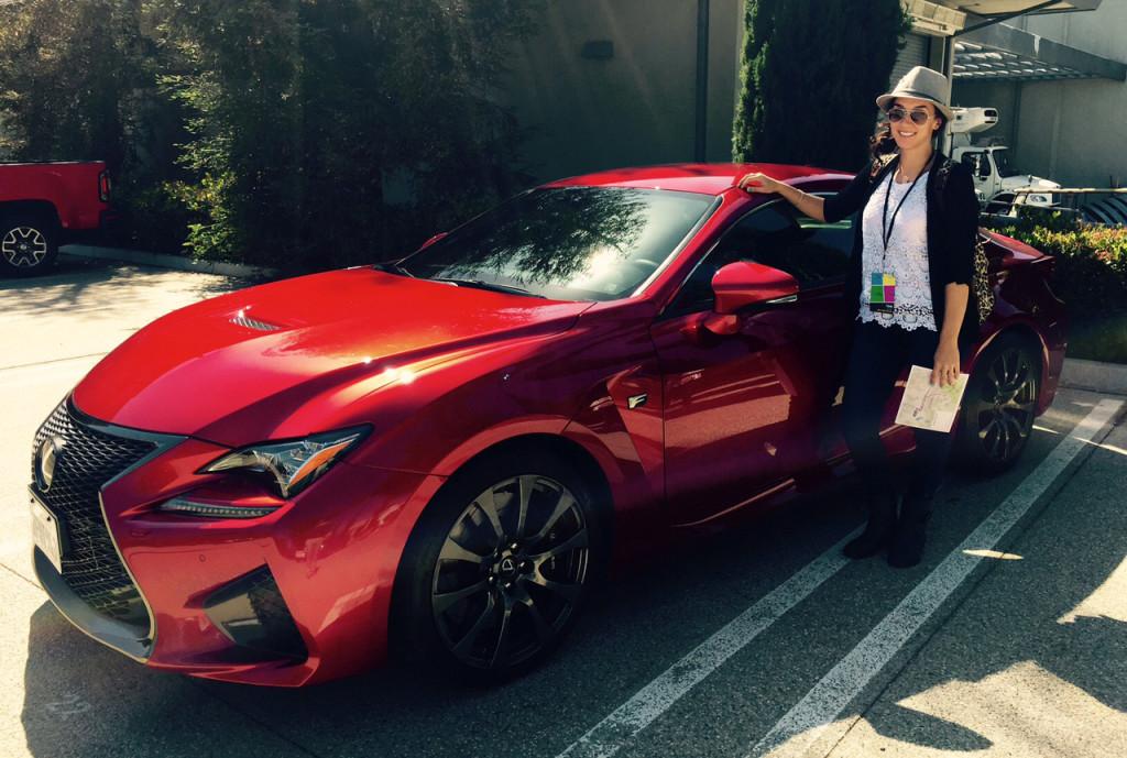 Toni w Lexus RCF