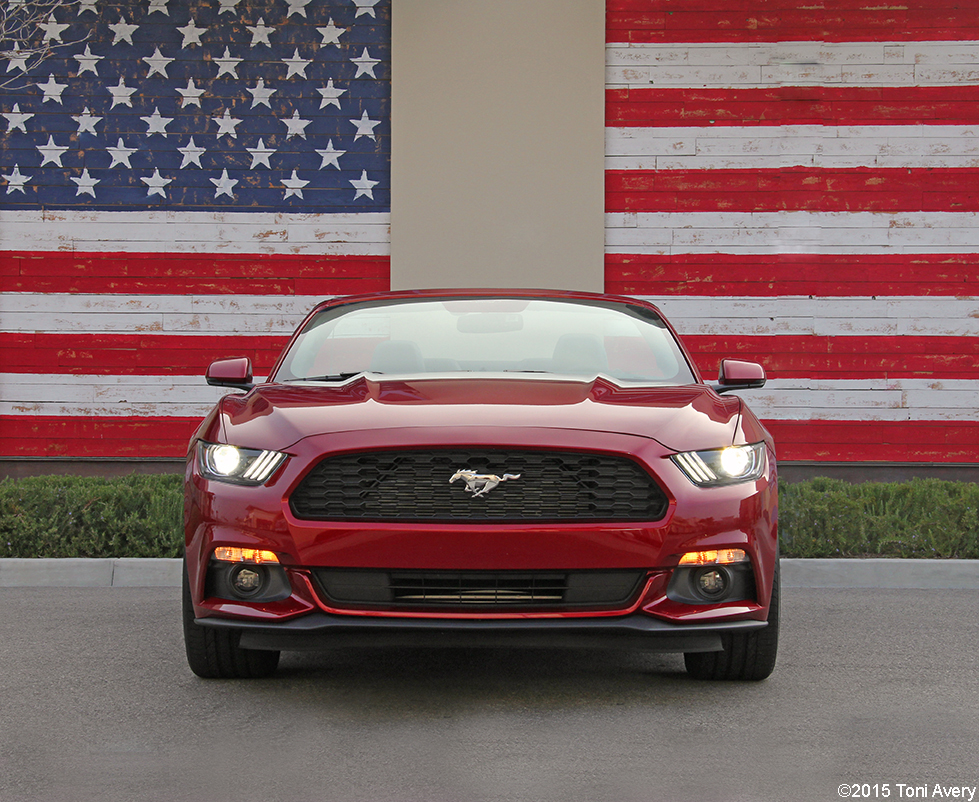 2015 Ford Mustang EcoBoost front longer crop