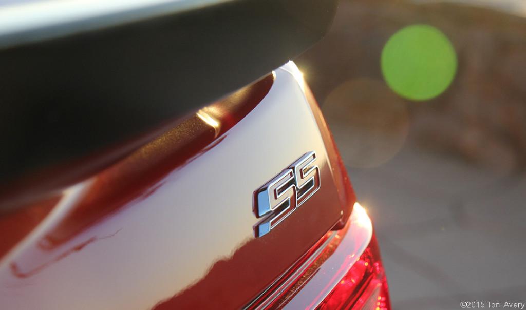 2015 Chevrolet Camaro SS 1LE rear badge