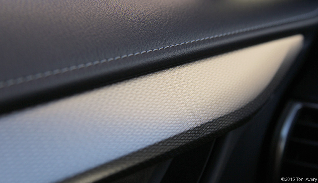 2015 Lexus NX 200t F Sport dash detail