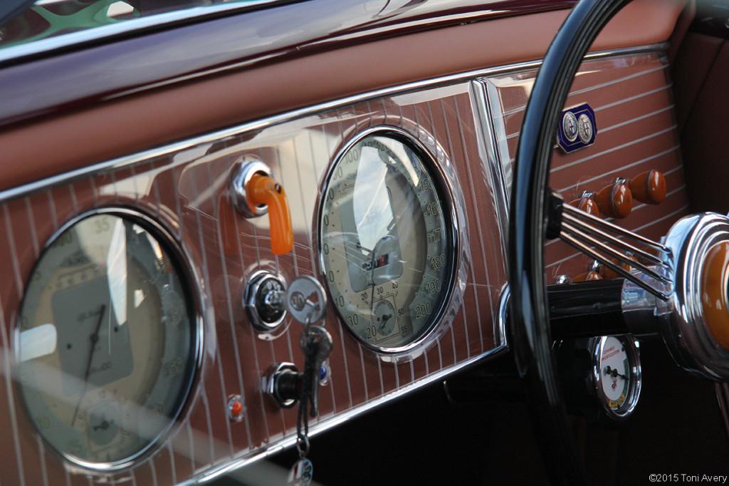 8-16-15 Pebble Beach, CA 1939 Alfa Romeo 6C 2500 Touring Coupe
