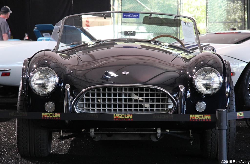 8-13-15 Mecum Auctions Monterey, CA 1963 Shelby 289 Cobra Roadster