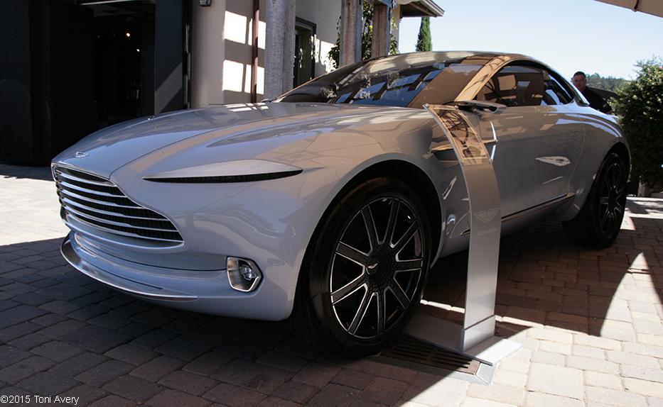Aston Martin Dbx Concept Front