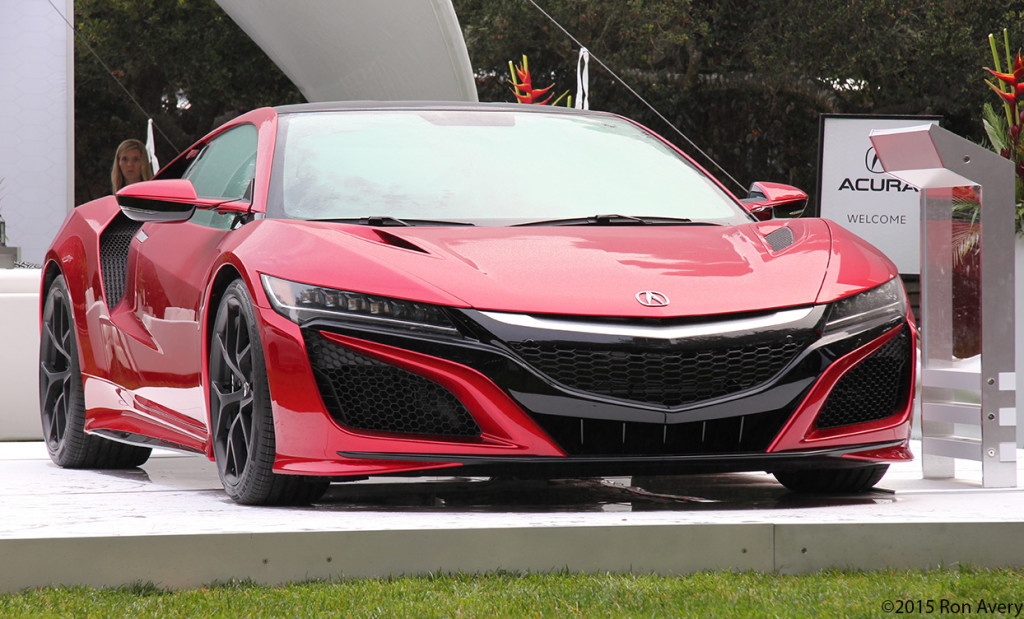 the new Acura NSX!