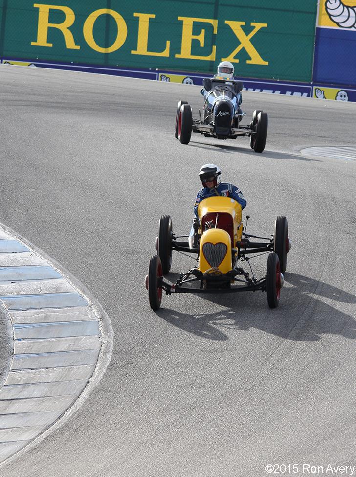 8-15-15 Laguna Seca Raceway, Salinas CA Group 1A - Pre 1940 Sports Racing and Touring Cars