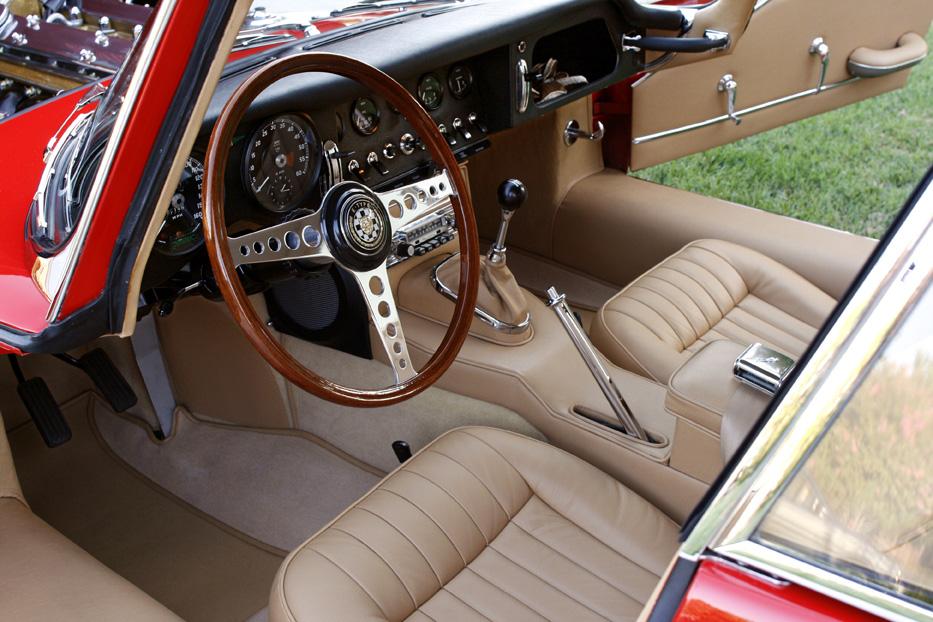 Cars 1965 Jaguar E-type 2007 © 2007 Ron Avery
