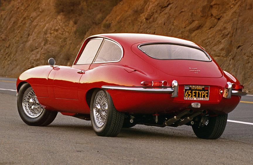 Cars 1965 Jaguar 4.2 E-Type © 2005 Ron Avery