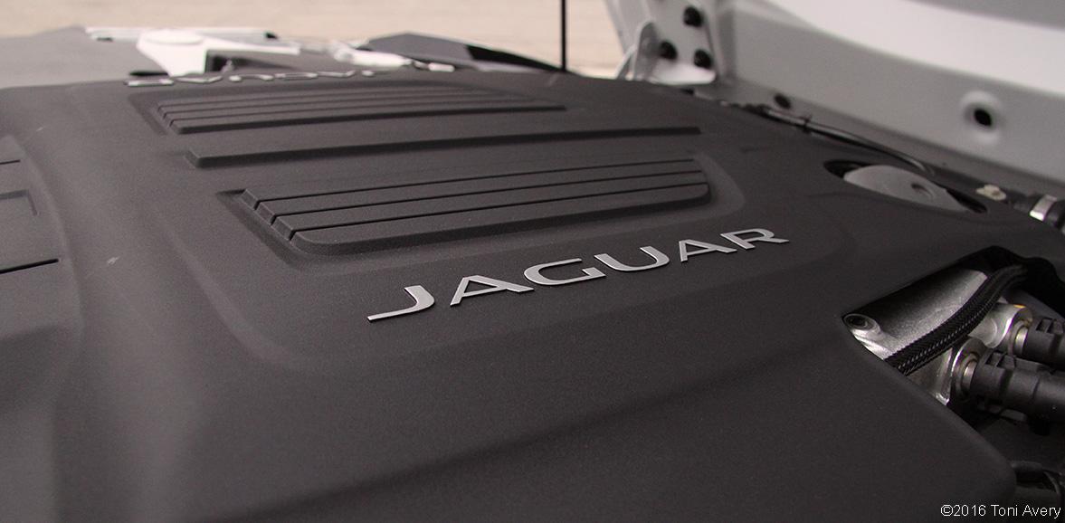 2016 Jaguar F-Type R Con. AWD engine
