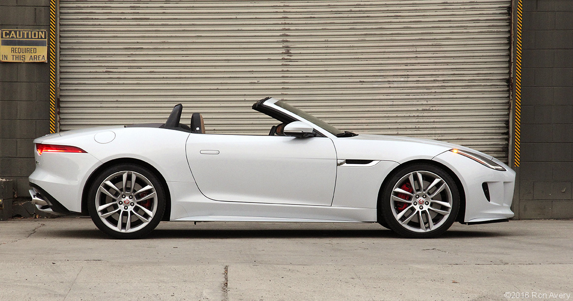 611 In 2016 Jaguar F Type R Awd Convertible Review