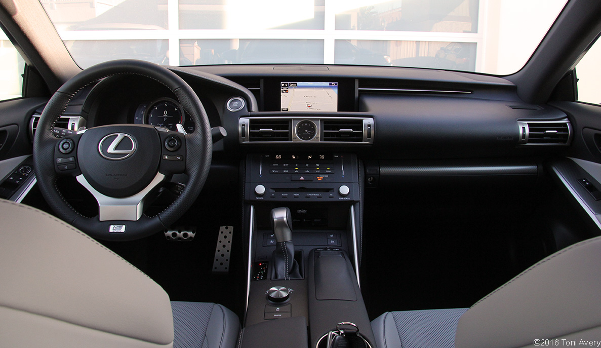 2016 Lexus IS 350 F SPORT 2-3-16
