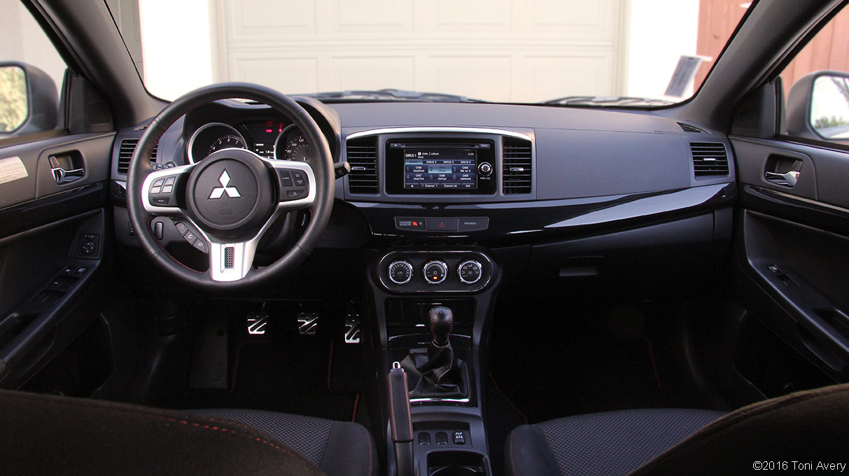 2015 Evo Final Edition Review interior