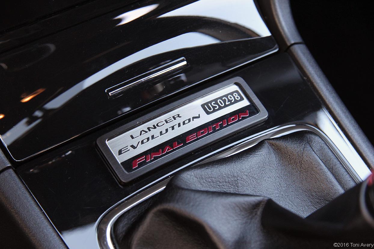 2015 Mitsubishi Lancer Evolution Final Edition badge