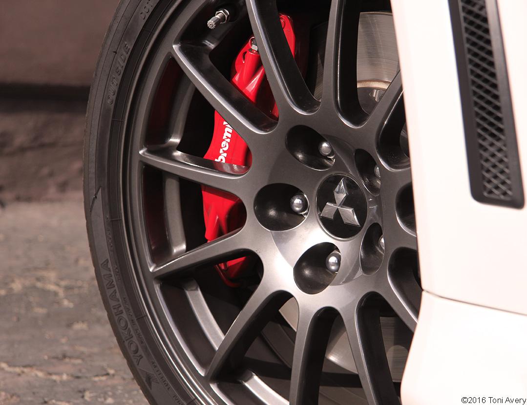 2015 Mitsubishi Lancer Evolution Final Edition wheel