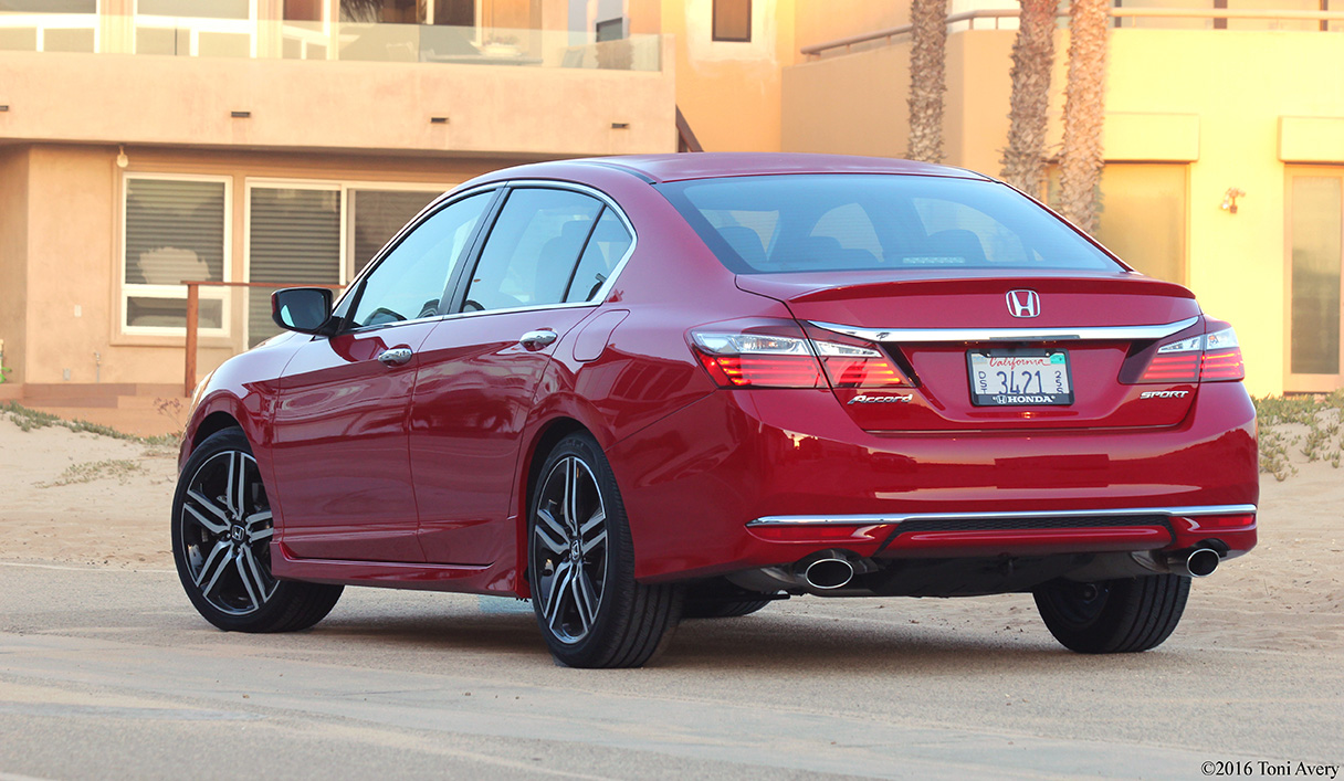 ... 707 In 2016 Honda Accord 4 Door Sport Review