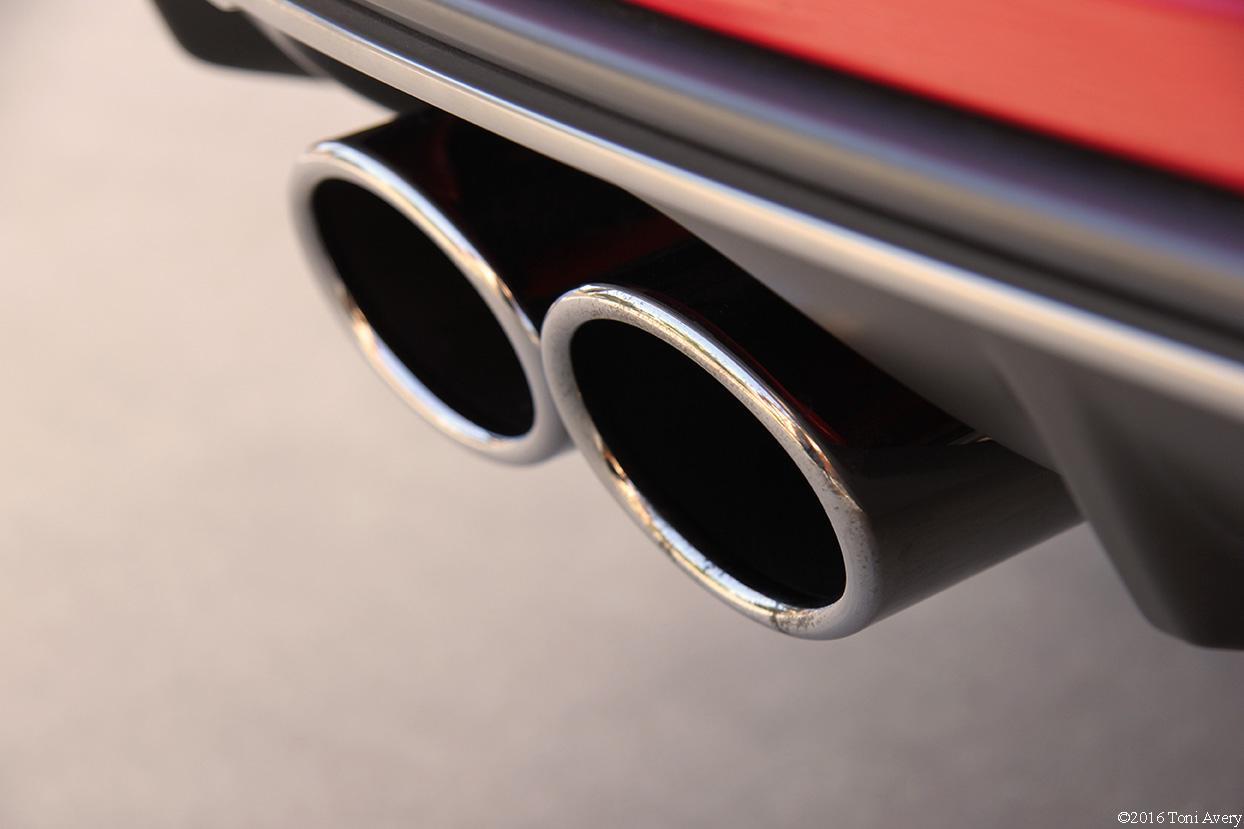 2016 Audi S3 exhaust