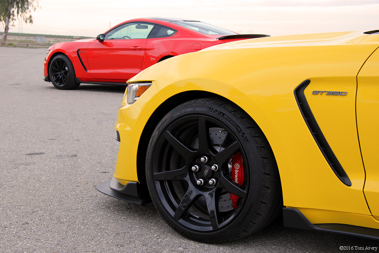 GT350 North American Track Tour car lineup