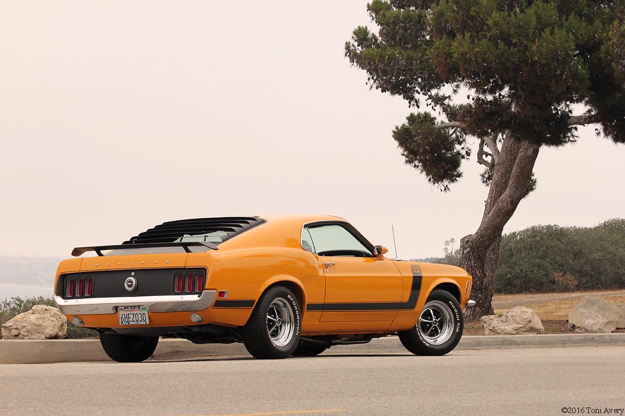 1970 Ford Mustang Boss 302 rear