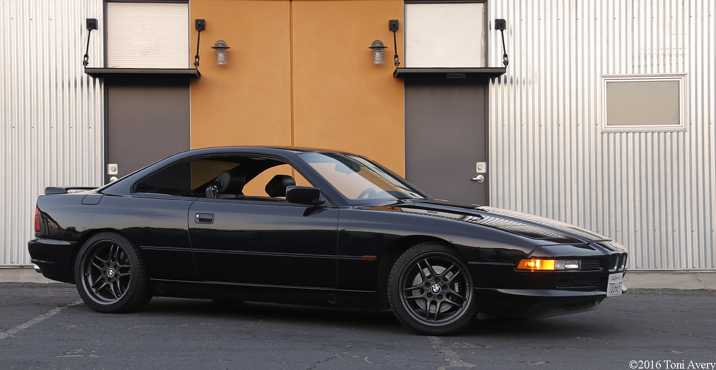 1995 BMW 840 front