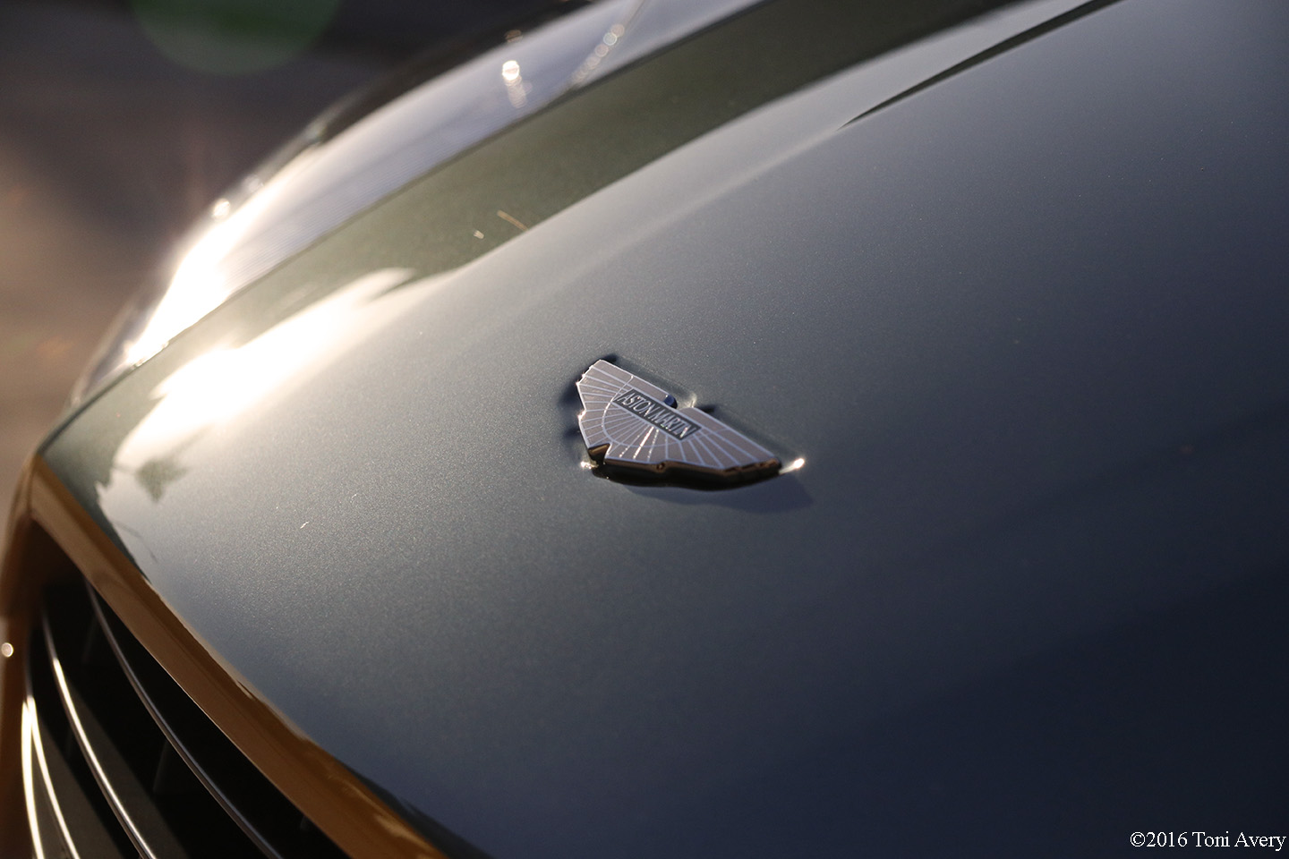 2016 Aston Martin Vantage GT nose badge