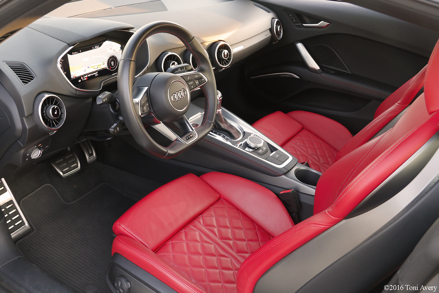 2016 Audi Tts Coupe Interior Girlsdrivefasttoo