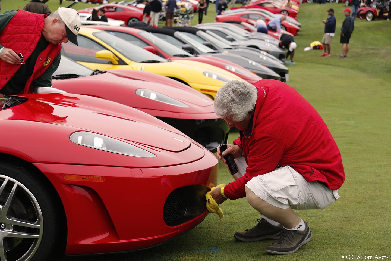 Concorso Italiano cleaning Ferrari