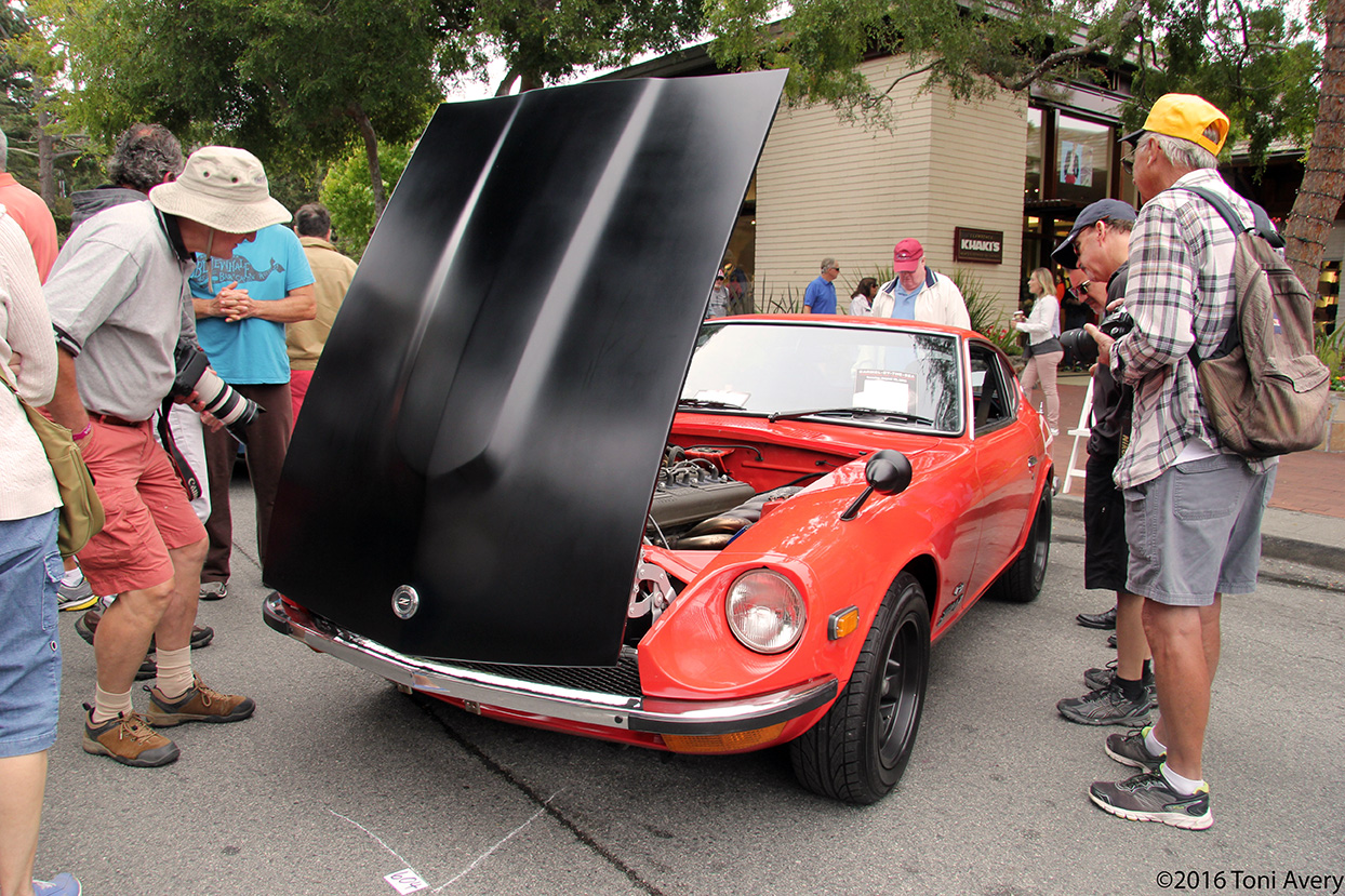 Monterey Car Week Concours On The Avenue 8-16-16