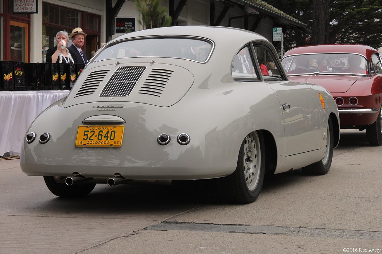 Concours on the Avenue 1963 Porsche outlaw rear