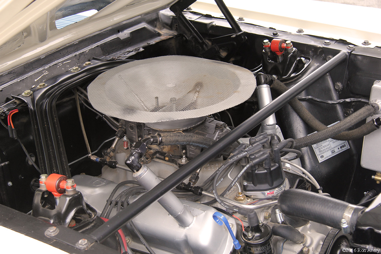 Concours on the Avenue 1965 Shelby GT350 R engine