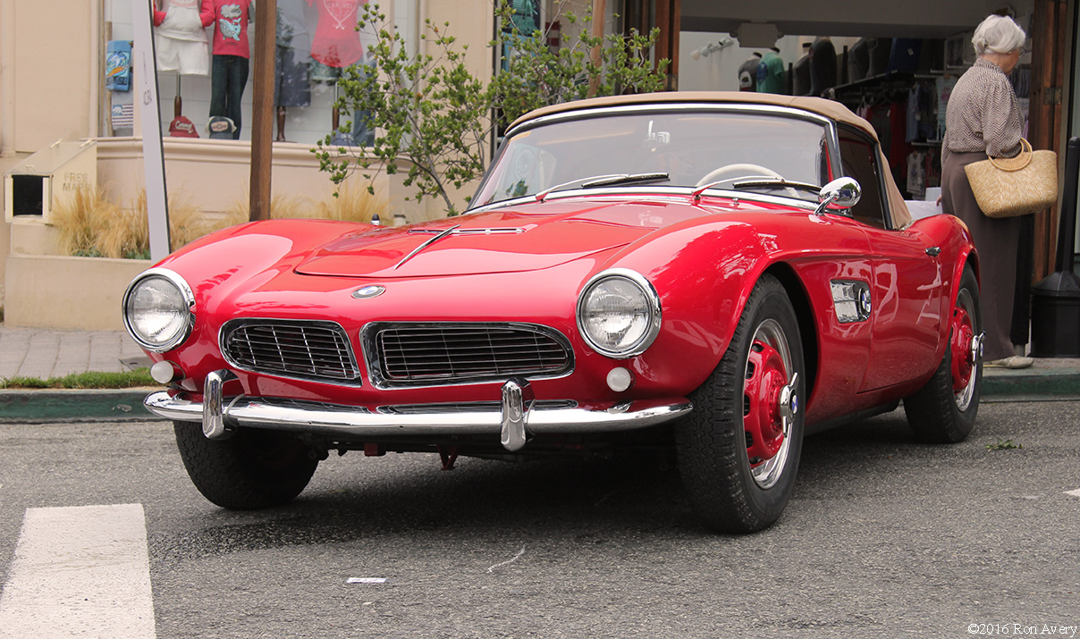 Concours on the Avenue BMW 507 front