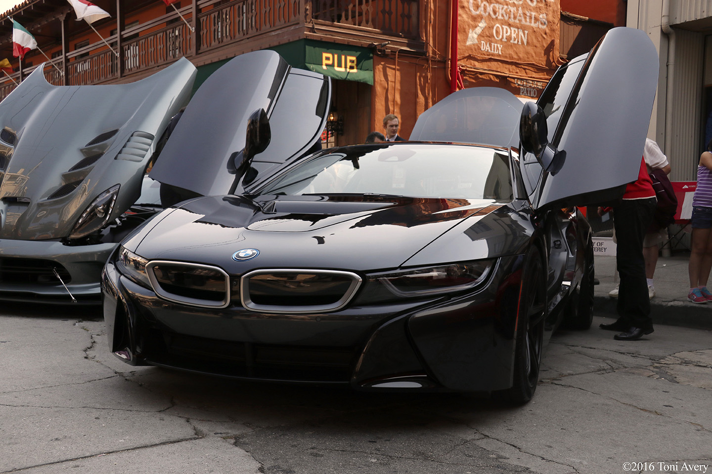 Exotics on Cannery Row BMW i8 and Viper