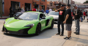 Exotics on Cannery Row McLaren 650 front