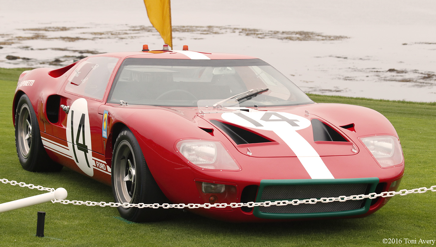 Pebble Beach Concours d'Elegance 1966 Ford GT40