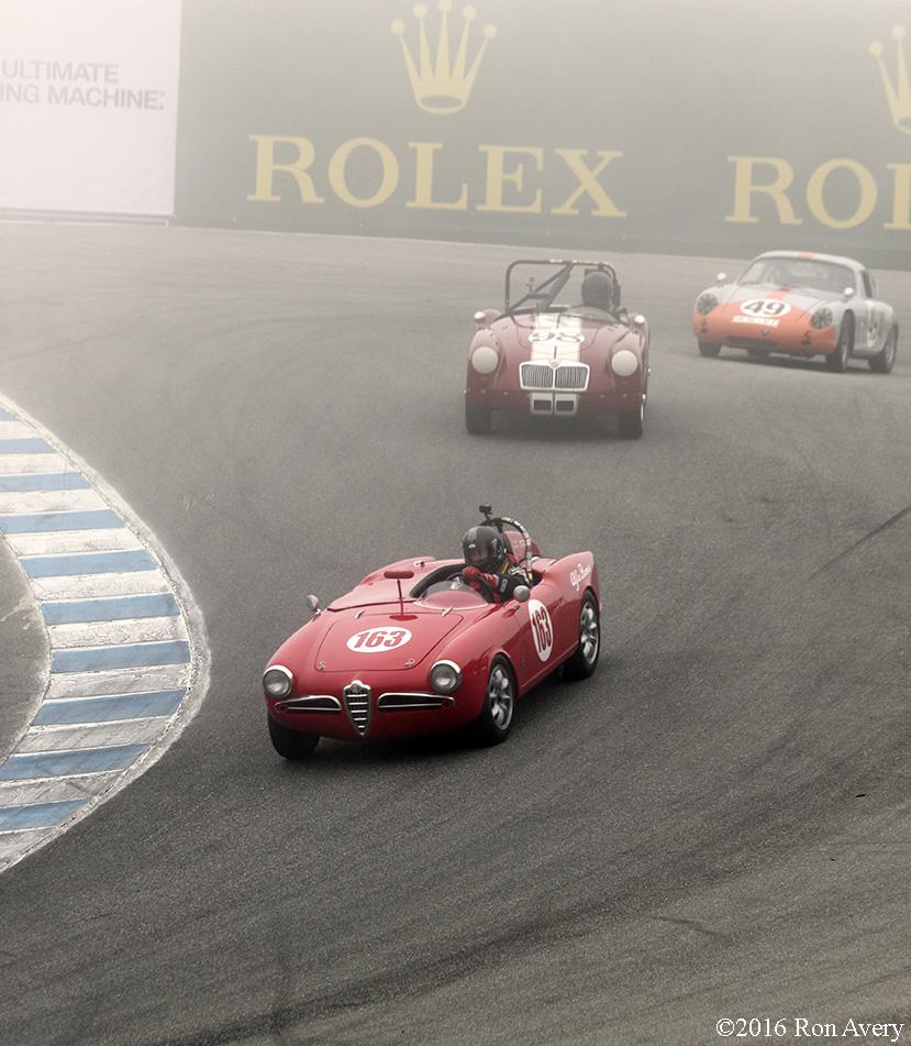 Rolex Monterey Motorsports Reunion Alfa Porsche