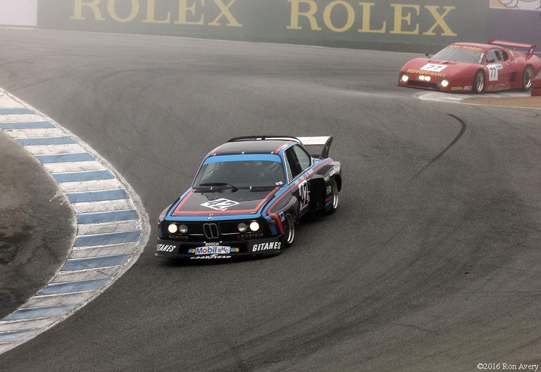 Rolex Monterey Motorsports Reunion BMW 3.0 and Ferrari
