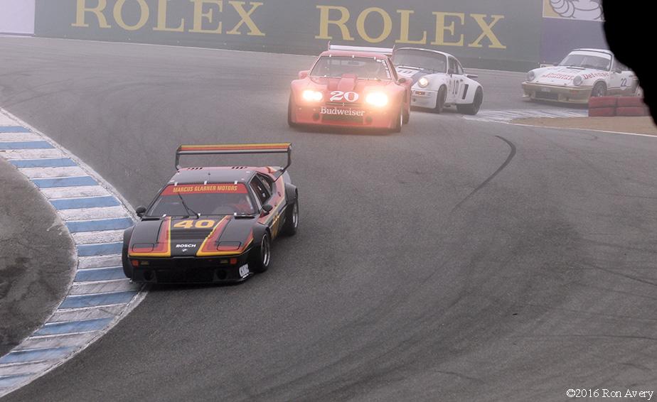 Rolex Monterey Motorsports Reunion BMW M1 Porsches