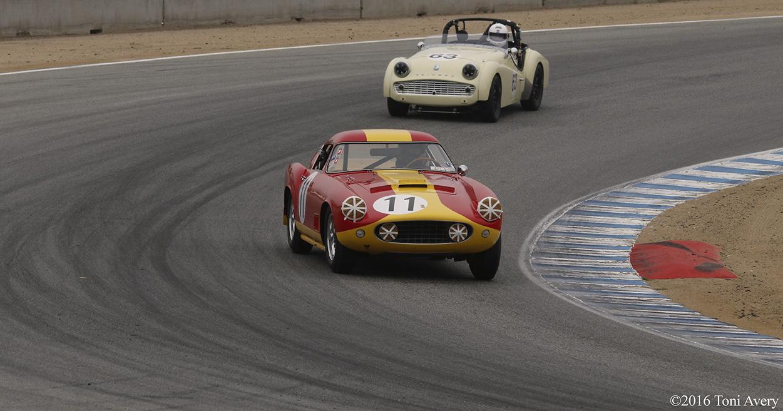 Rolex Monterey Motorsports Reunion Ferrari Triumph