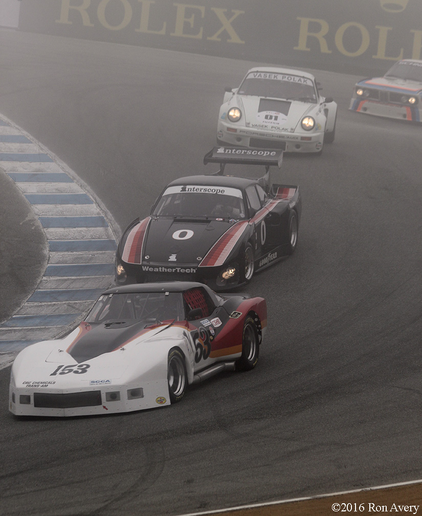 Rolex Monterey Motorsports Reunion corkscrew lineup