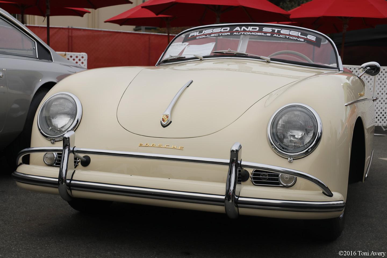 Russo & Steele Auctions 1957 Porsche 356 Speedster front
