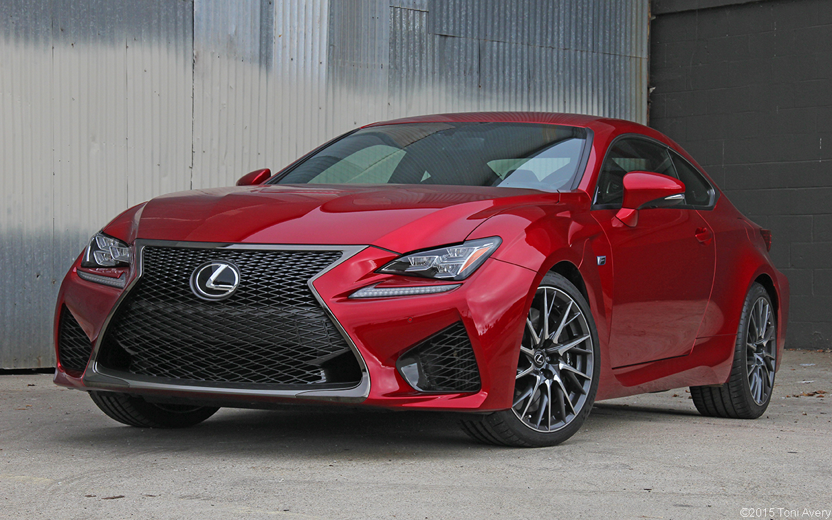 2015 Lexus RC-F Coupe Review