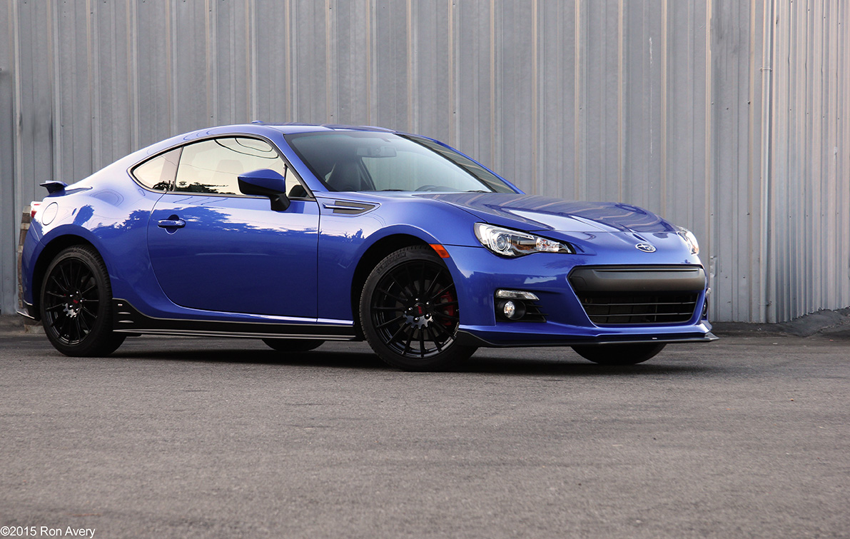 2015 Subaru BRZ Series.Blue Review